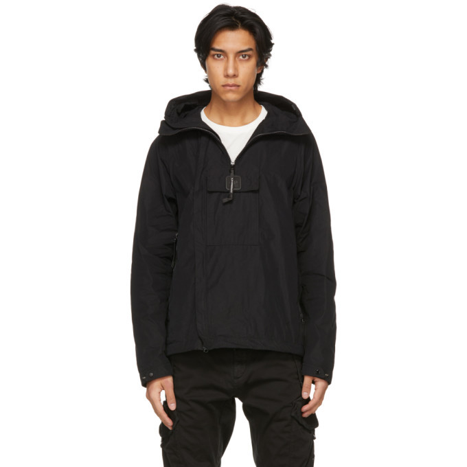 Photo: C.P. Company Black Coated Canvas Medium Jacket
