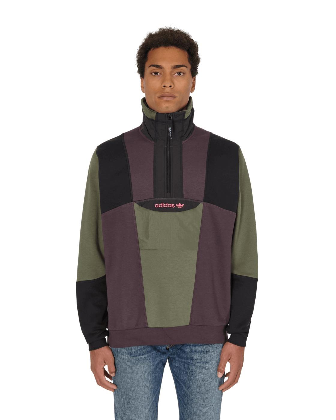 Adidas Originals Adventure Field Half Zip Sweatshirt Multi