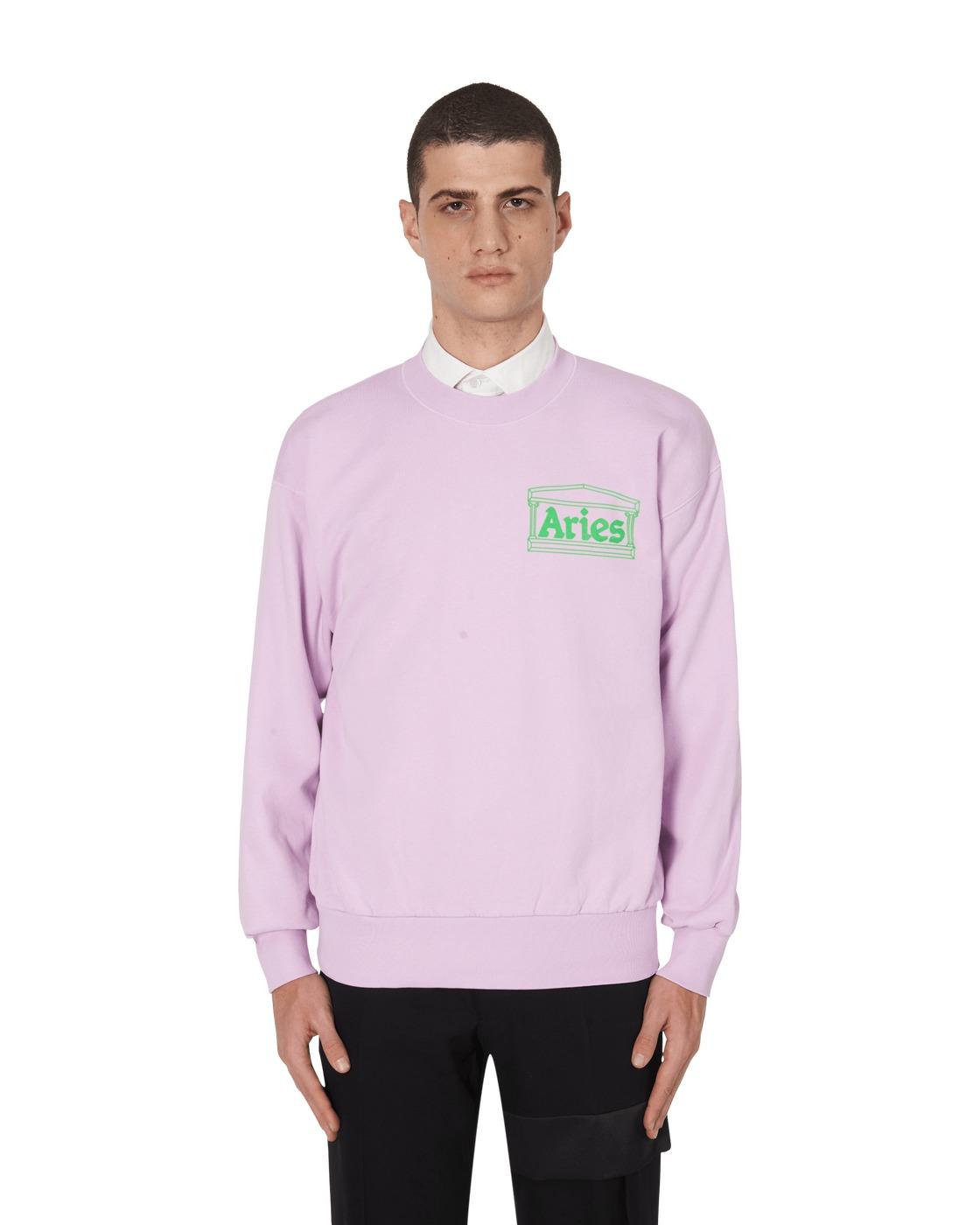 Aries Y2k Crewneck Sweatshirt Lilac