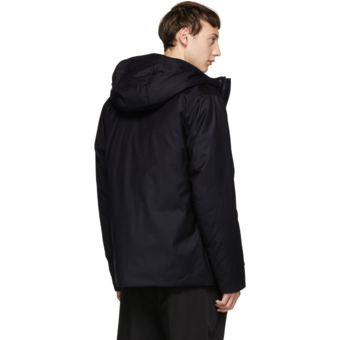 Woolrich John Rich and Bros Navy Down Loro Piana Mountain Jacket