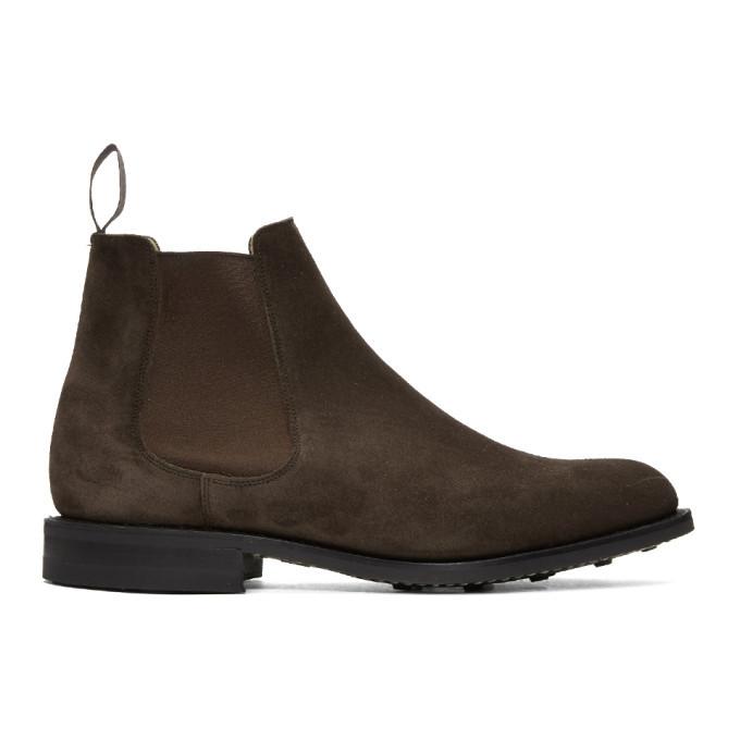 Photo: Churchs Brown Redenham Chelsea Boots