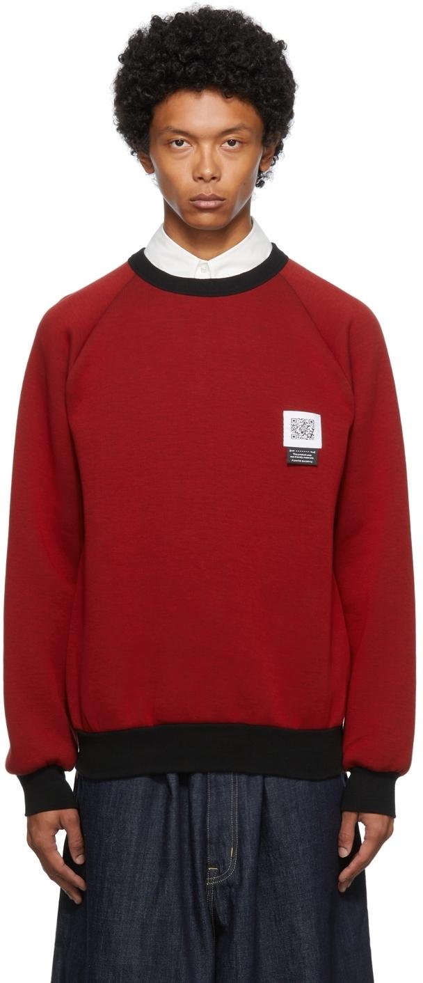 Photo: Fumito Ganryu Red Side Zip Sweatshirt