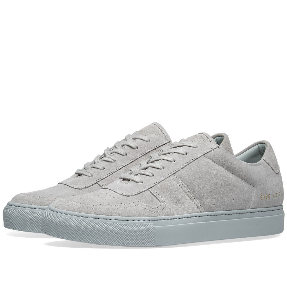Photo: Common Projects B-Ball Low Suede