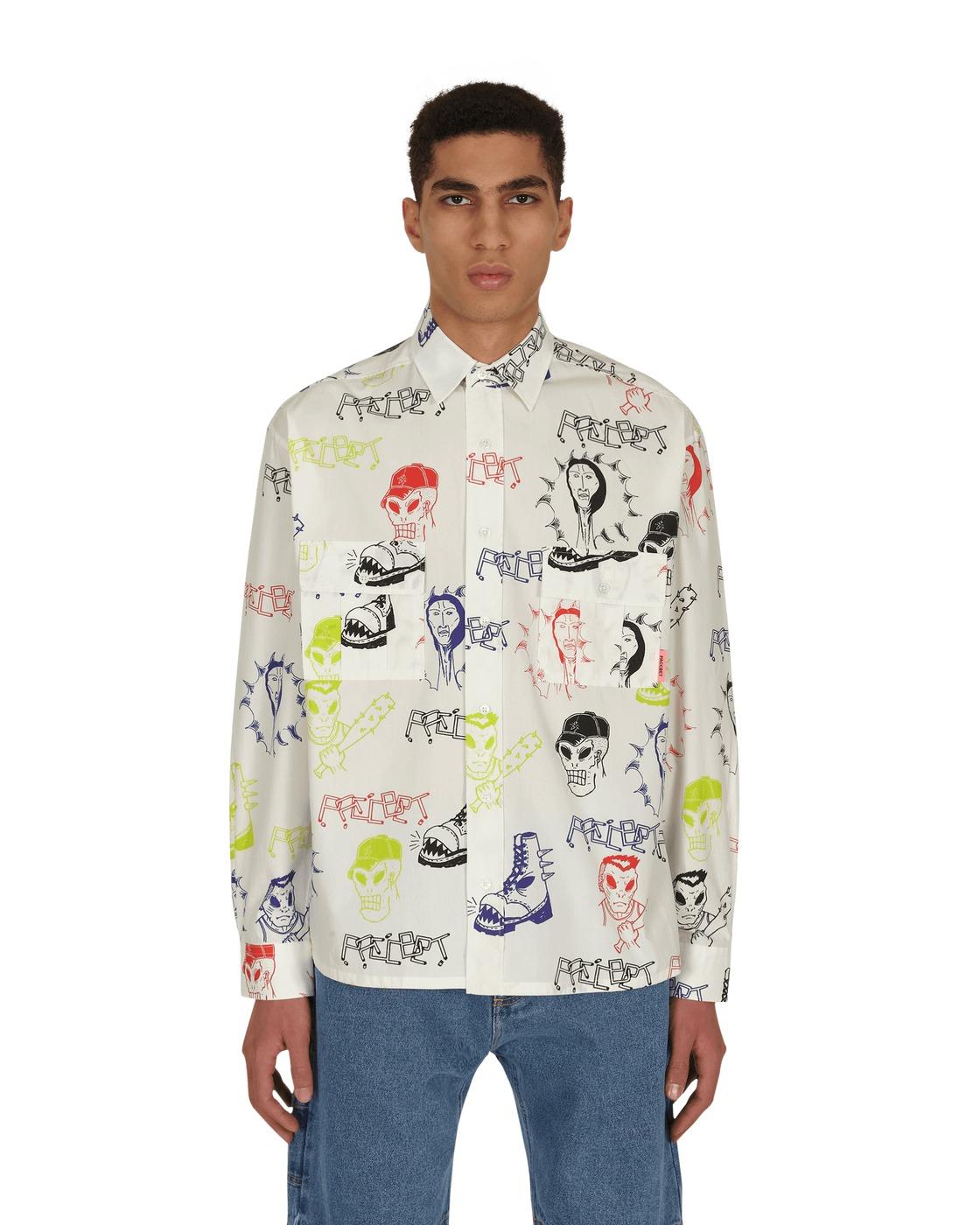 Photo: Paccbet Printed Shirt Hardcore Print
