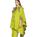 Sacai Yellow and Tan Cape Coat