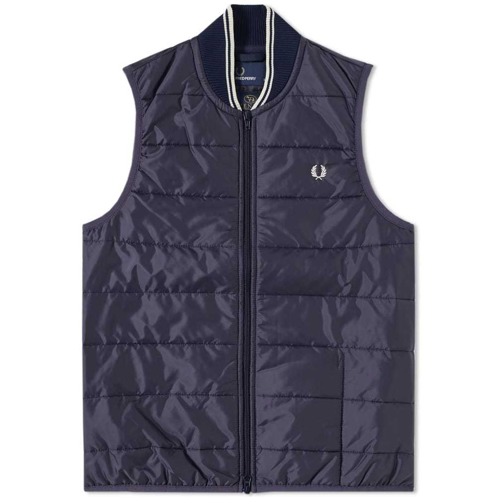 Photo: Fred Perry x Lavenham Quilted Gilet