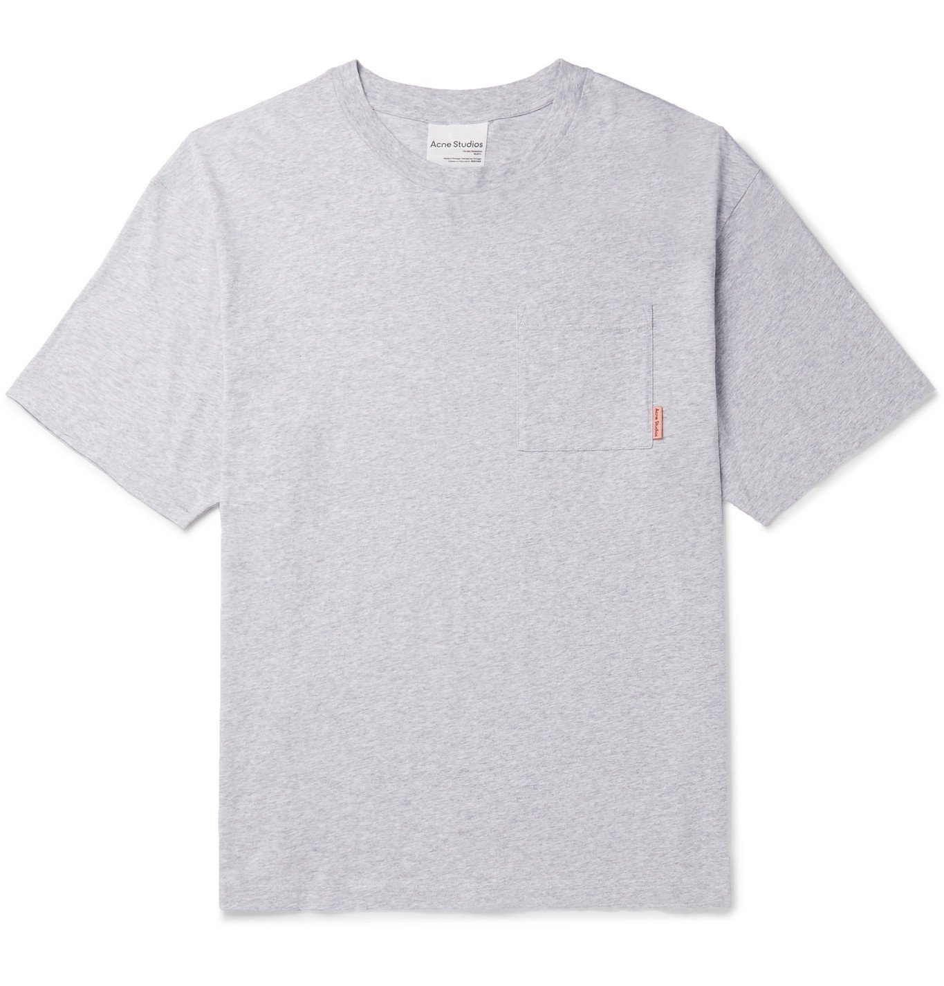 Acne Studios - Oversized Cotton-Jersey T-Shirt - Gray
