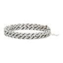 Raf Simons Silver Square Chain Bracelet