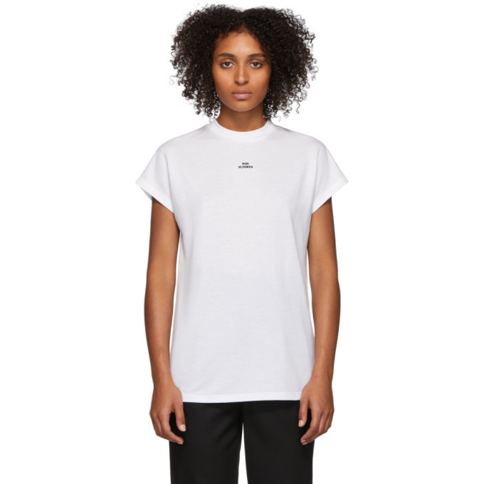 Photo: Won Hundred White Proof Logo T-Shirt