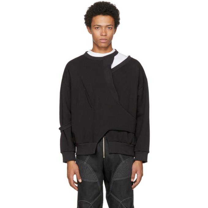 Photo: Vejas Black Seasonal Interlocking Sweatshirt