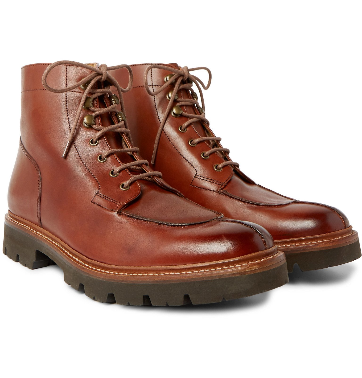 Photo: Grenson - Grover Leather Boots - Brown