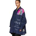 Raf Simons Navy Joy Division Substance Massive Denim Jacket