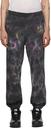 MCQ Black Tie-Dye Sweatpants