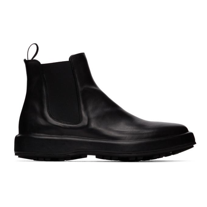 Photo: Officine Creative Black Unica 2 Chelsea Boots