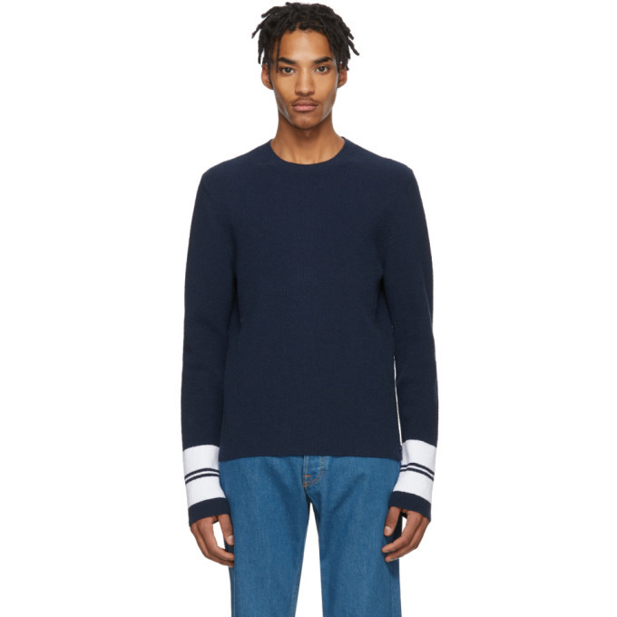 Photo: Lanvin Blue Terry Cloth Sweater