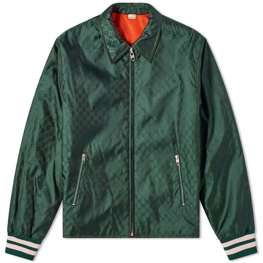 Photo: Gucci Gg Jaquard Varsity Jacket
