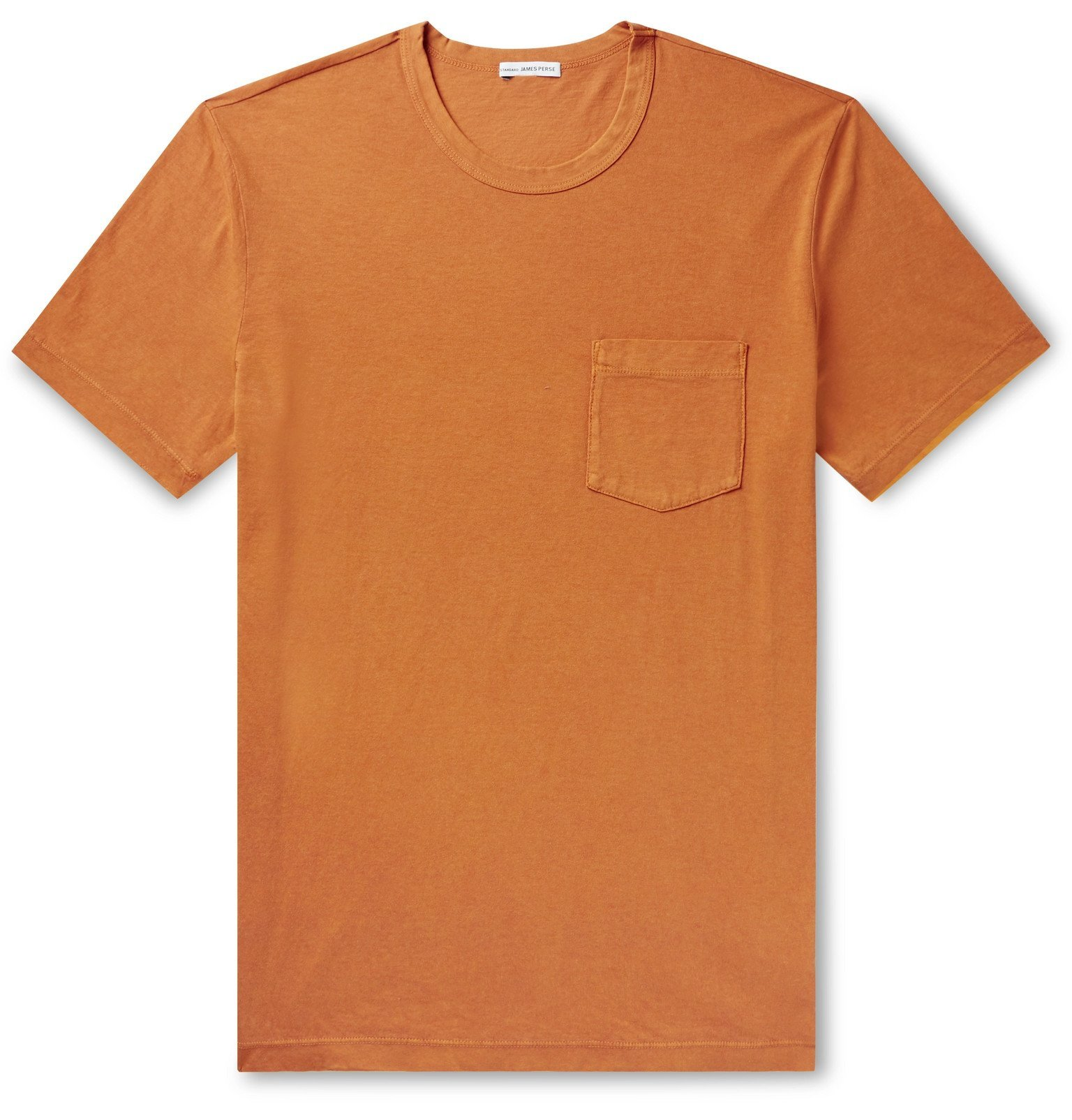 Photo: James Perse - Combed Cotton-Jersey T-Shirt - Orange