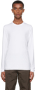 Giorgio Armani White Stretch Bamboo-Viscose Jersey T-Shirt