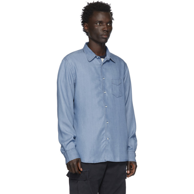 Officine Generale Indigo Benoit Shirt