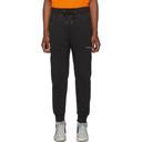 Ksubi SSENSE Exclusive Black Logo Lounge Pants
