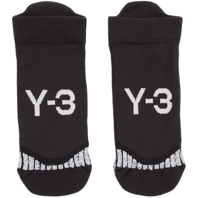Y-3 Black Invisible Socks