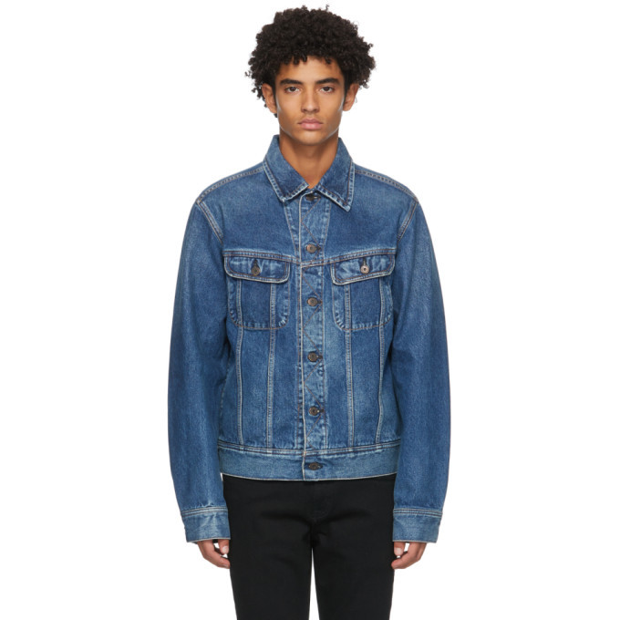 Photo: Moussy Vintage Blue Denim MVM Riders Jacket