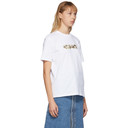 Stella McCartney White Floral Tape T-Shirt