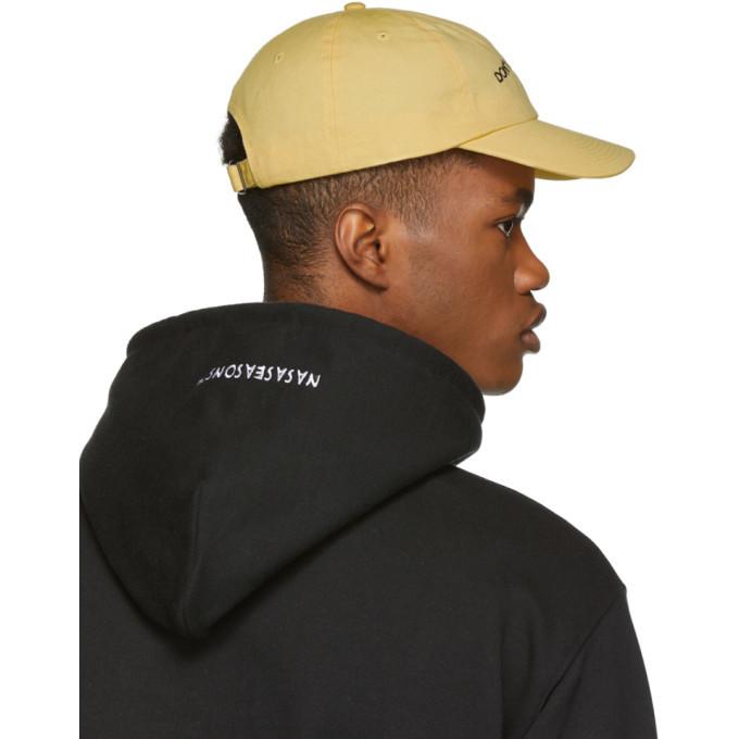 Nasaseasons SSENSE Exclusive Yellow Dont Look Away Cap