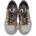 Asics Grey and Pink UB1-S Gel-Kayano 14 Sneakers