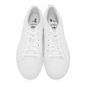 adidas Originals White Nizza Platform Sneakers