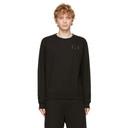 MCQ Black Regular Pullover Sweatshirt