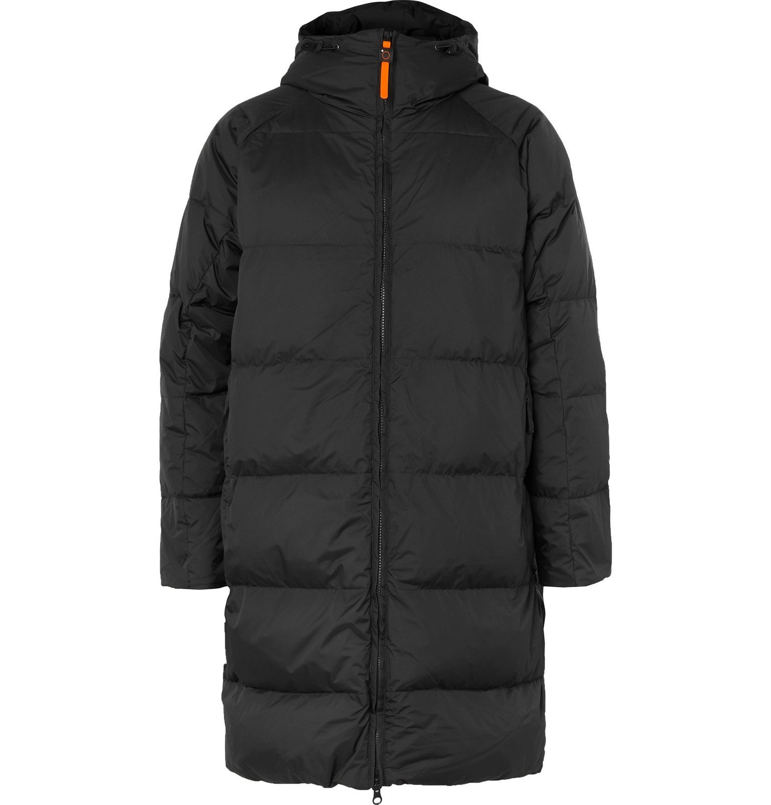 Photo: Aspesi - Quilted Nylon-Ripstop Hooded Down Jacket - Black