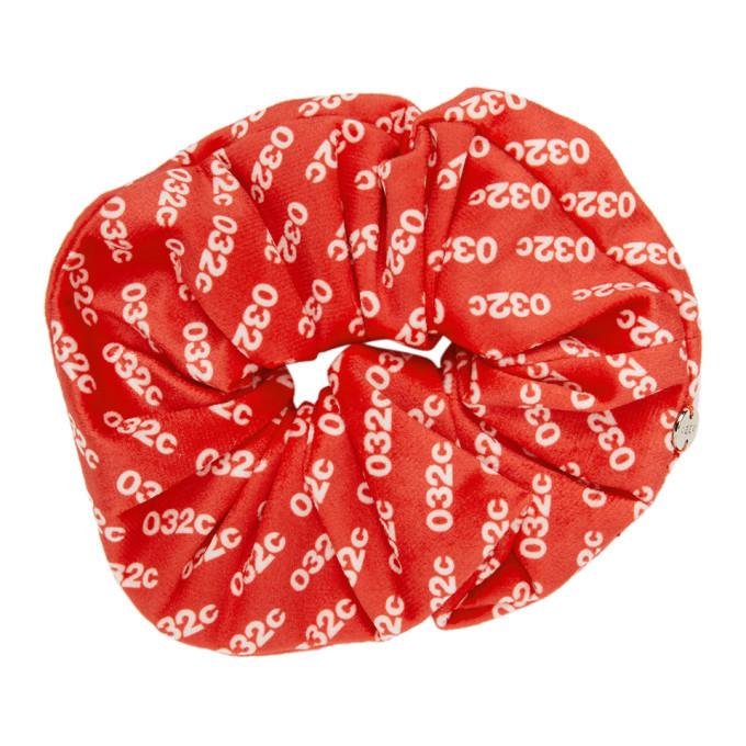 032c Red Velvet Scrunchie