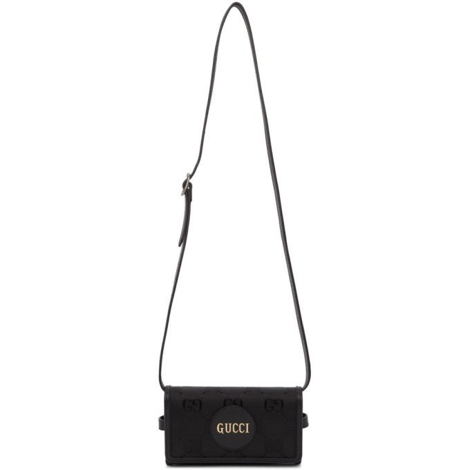 Photo: Gucci Black Off The Grid GG Eco Messenger Bag