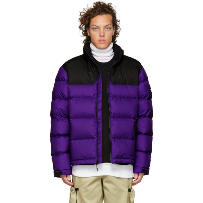 Photo: The North Face Purple and Grey Down 1992 Nuptse Jacket