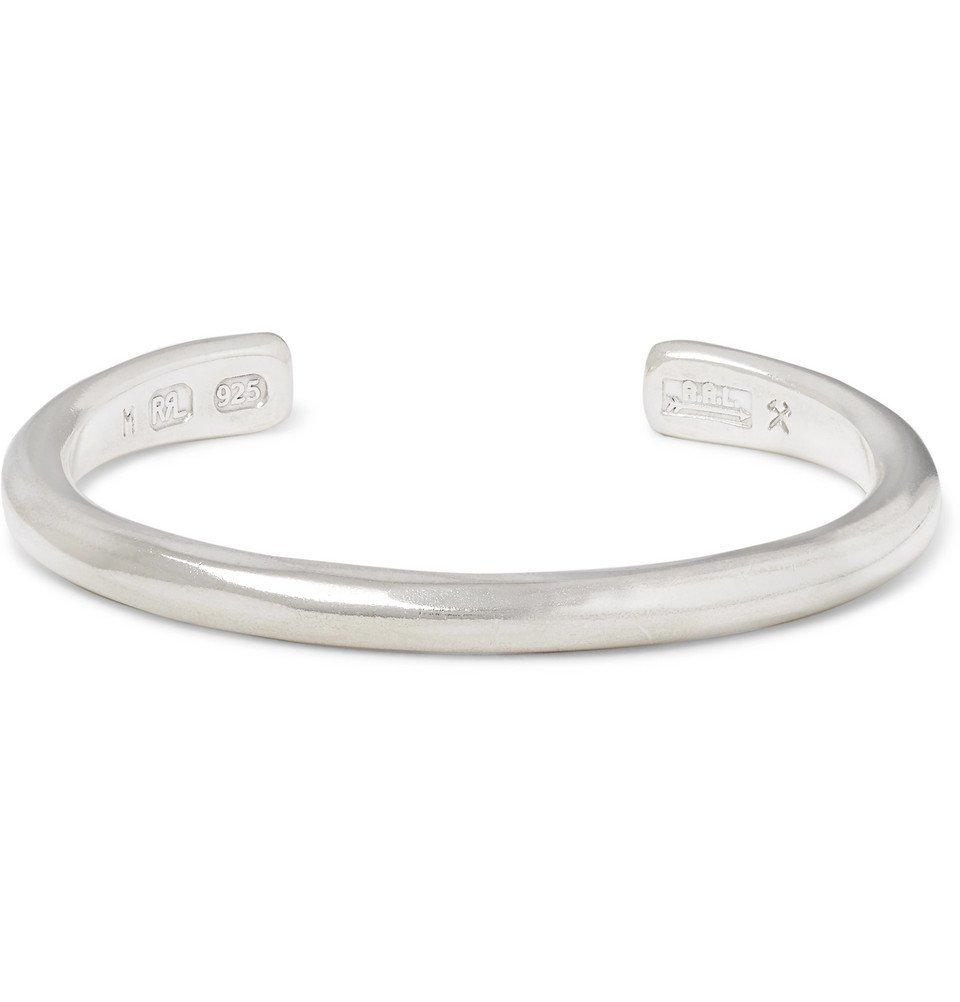 RRL - Hammered Sterling Silver Cuff - Men - Silver