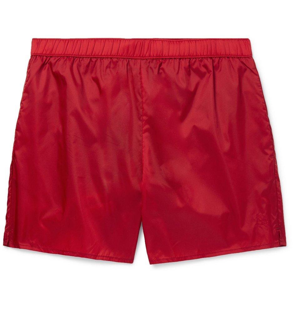 Photo: Acne Studios - Warrick Mid-Length Swim Shorts - Red