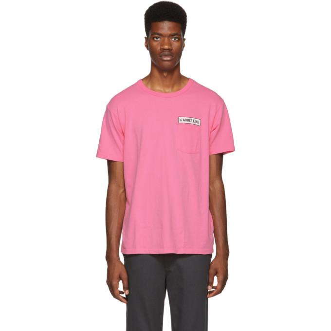 Photo: Bianca Chandon Pink Tom Bianchi Edition Adult Line Pocket T-Shirt
