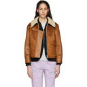 Stella McCartney Brown Skin Free Skin Jacket