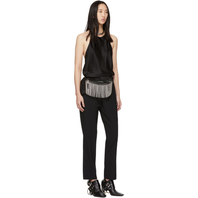 alexanderwang.t Black Washable Lean Trousers
