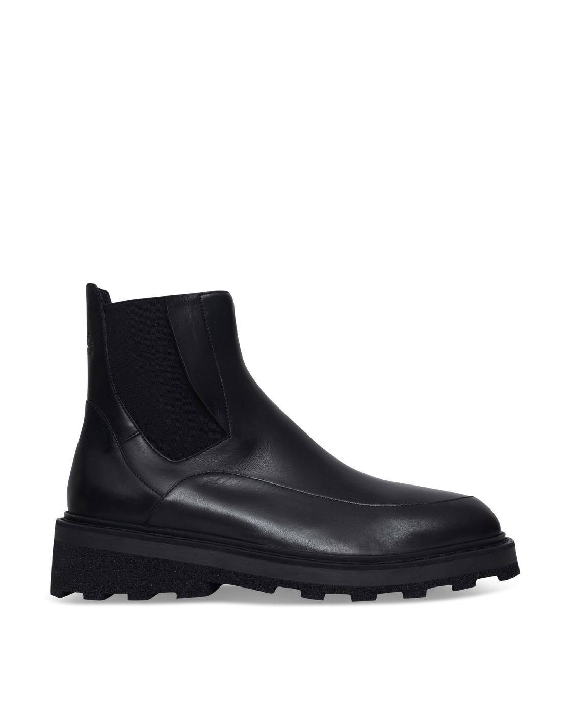 Photo: A Cold Wall Oxford Chelsea Boots Black