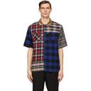 Sacai Multicolor Flannel Plaid Mix Shirt