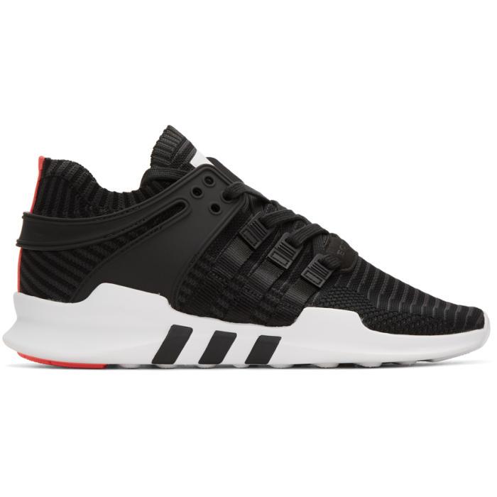 adidas Originals Black Equipment Support ADV Sneakers