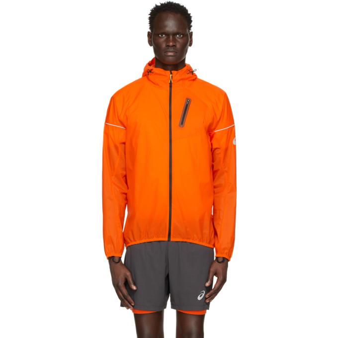Photo: Asics Orange Fujitrail Jacket
