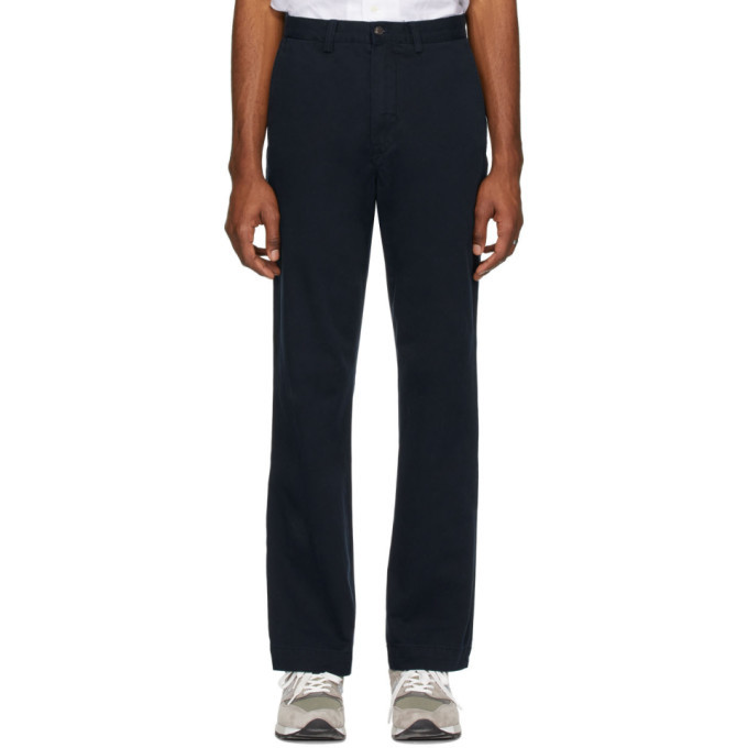 Photo: Polo Ralph Lauren Navy Bedford Trousers