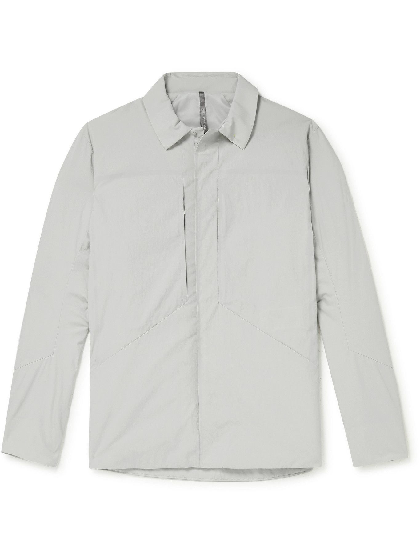 Photo: Veilance - Mionn Padded TerraTex Overshirt - Gray