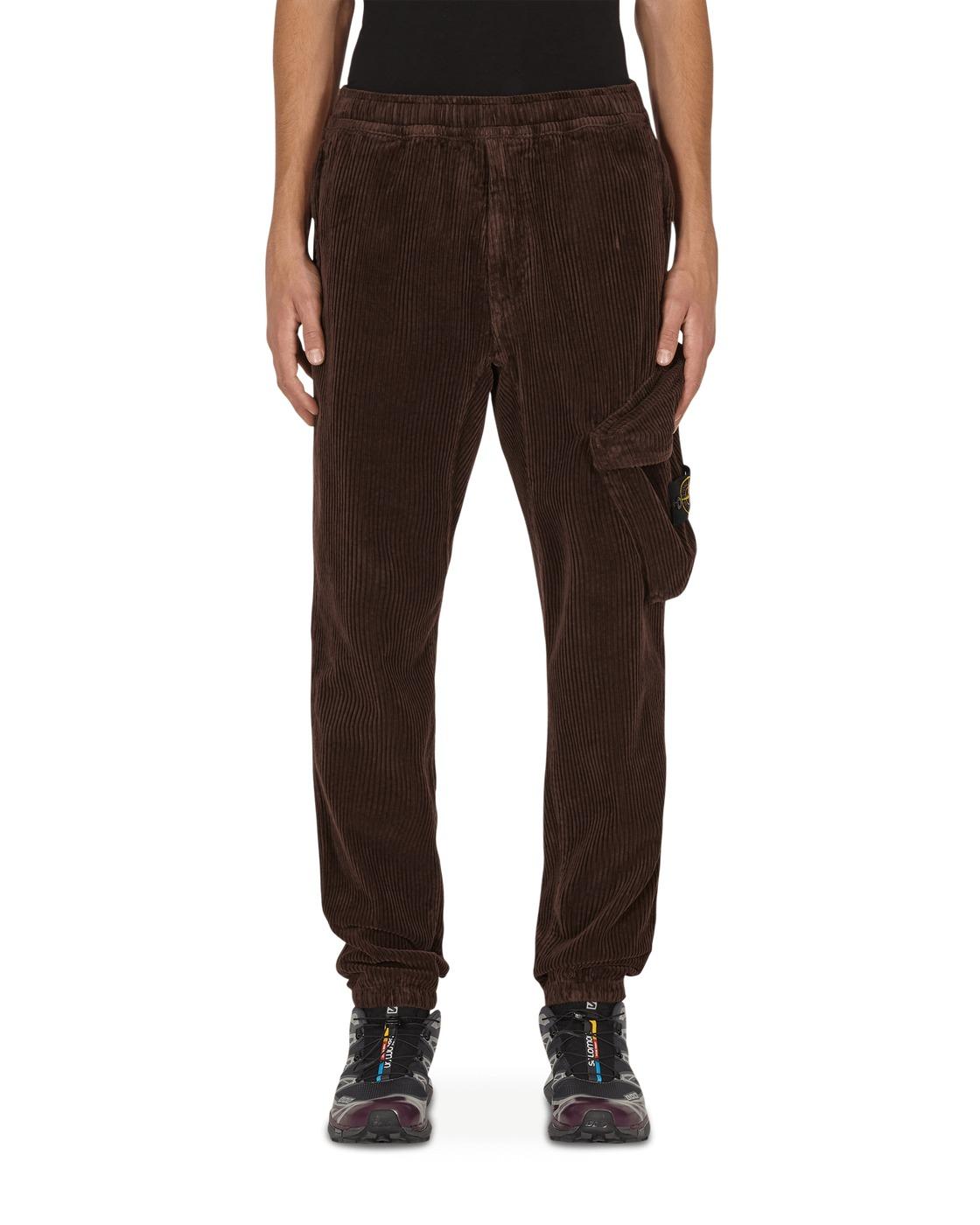 Photo: Stone Island Cotton Corduroy Cargo Pants Dark Brown