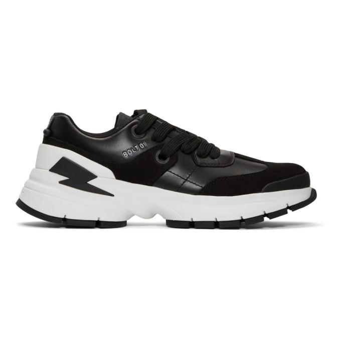 Photo: Neil Barrett Black Bolt01 Sneakers