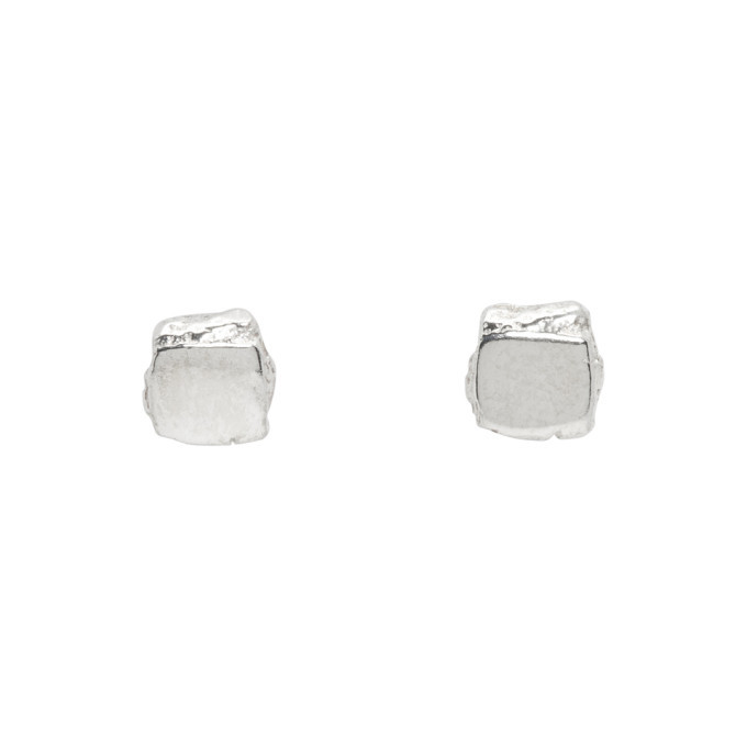 Photo: Pearls Before Swine Silver Small High Polished Stud Earrings