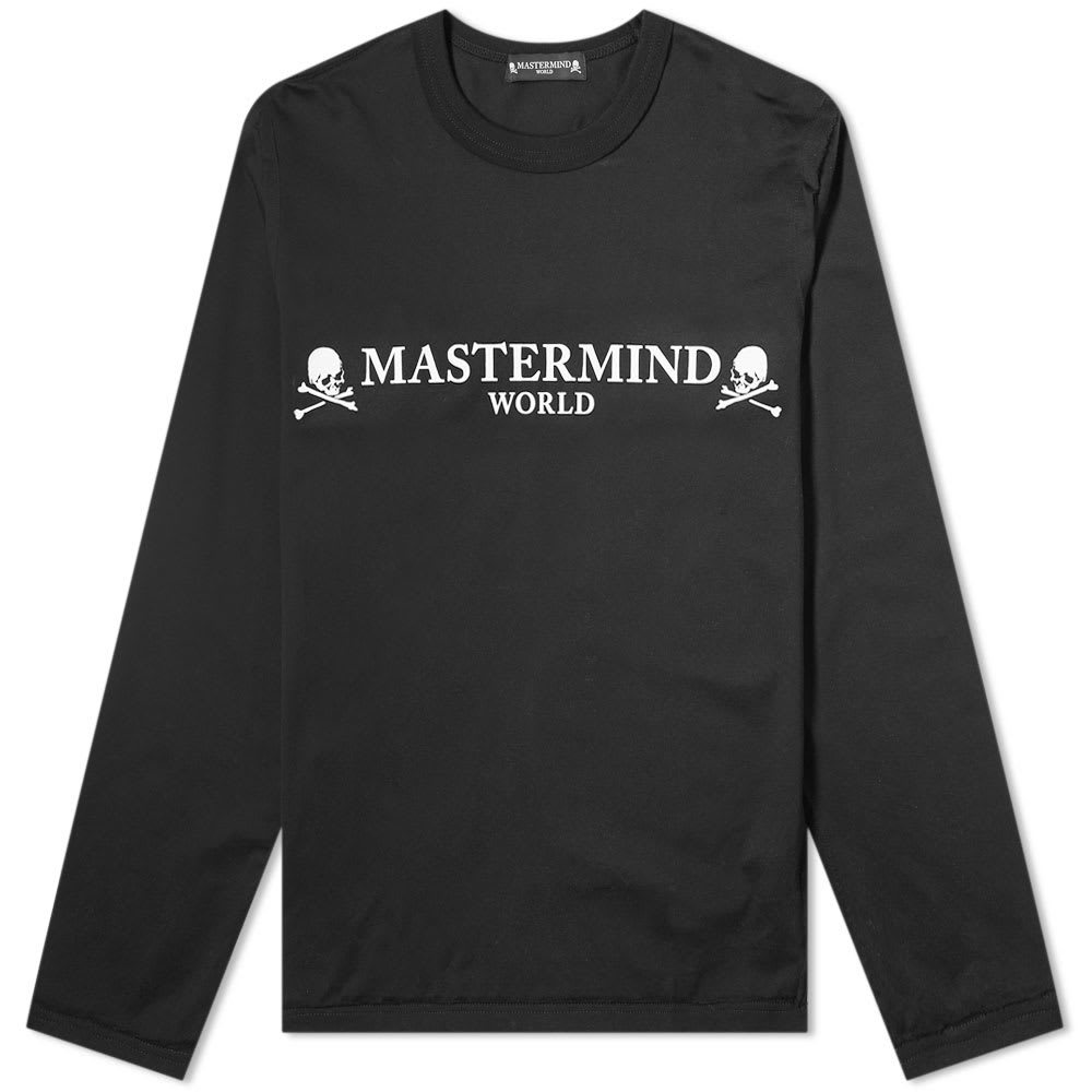 Photo: MASTERMIND WORLD Long Sleeve Logo Tee